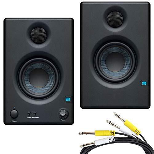 Presonus Eris 4.5 – Altoparlanti per monitor multimediali attivi + cavo di collegamento jack a 2 vie, 2 m Strumenti e accessori musicali