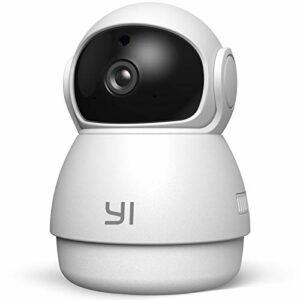 YI Dome Guard Telecamera da Interno 1080p, Videocamera Sorveglianza Wifi 360 gradi, Rilevamento di Movimento, Audio… Sicurezza e videosorveglianza