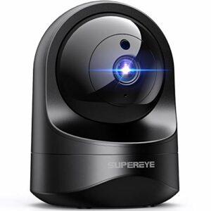SUPEREYE FHD 1080P Telecamera wi-fi Interno, Videocamera Sorveglianza Compatibile con Alexa, Webcam Wifi con Visione… Sicurezza e videosorveglianza