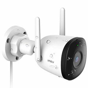 Imou Telecamera WiFi Esterna, 1080P Telecamera di Sicurezza con AI Rilevazione del Movimento Umano, IP67 Antipolvere… Sicurezza e videosorveglianza