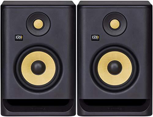 ROKIT RP5 G4 – coppia di studio monitor biamplificati in classe D a 2 vie da 55 watt di colore nero Strumenti e accessori musicali