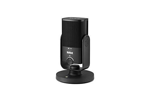 Rode Microphones NT-USB Mini – Microfono USB di qualità da studio, Nero Strumenti e accessori musicali