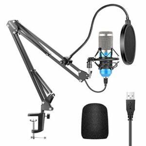 Dove acquistare Neewer Microfono a USB 192KHz/24Bit Plug & Play da Computer Cardioide a Condensatore (Blu) con Professionale Audio…