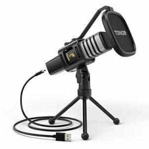 Dove acquistare Microfono USB, TONOR Condensatore Computer PC Mic con Supporto per Treppiede, Filtro Pop, Supporto Shock per Gaming…
