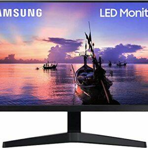 """Samsung Monitor F27T35 da 27"""" (68.6 cm), Full HD, 75Hz, Freesync, Eye Saver Mode, HDMI, Dark Blue Grey, Versione 2020 Informatica"""