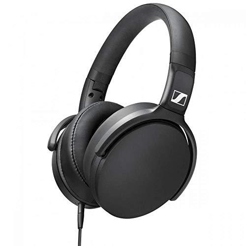 Sennheiser HD 400s Cuffia Microfonica Circumaurale con Comandi Remoti, Jack 3,5 mm, Nero Strumenti e accessori musicali
