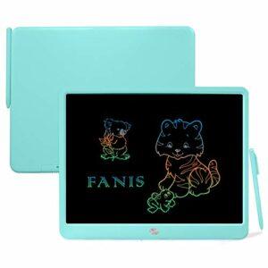 FANIS Tavoletta Grafica LCD da 15 pollici con stilo – Tavolo da disegno grafico elettronico – Blocco per scarabocchi per… Informatica