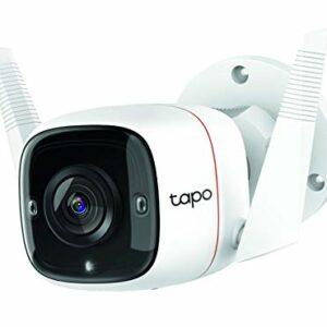 TP-Link Tapo C310 Telecamera Wi-Fi Esterno FHD 1296P, Telecamera IP di Sorveglianza, Notifiche in Tempo Reale, Visione… Sicurezza e videosorveglianza