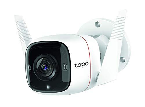 TP-Link Tapo C310 Telecamera Wi-Fi Esterno FHD 1296P, Telecamera IP di Sorveglianza, Notifiche in Tempo Reale, Visione…