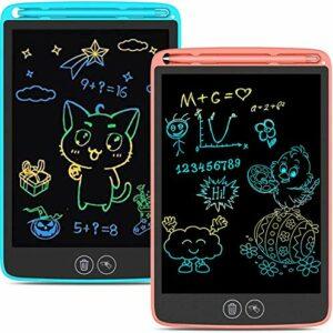 Tavoletta Grafica LCD Scrittura con Display Colorato 10 Pollici,Schermo con Funzione di Cancellazione Completa e… Informatica