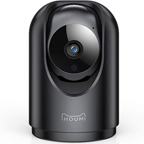 Telecamera Wi-Fi Interno, IHOUMI Telecamera IP FHD 1296P, con Super Visione Notturna / Audio Bidirezionale / Motion… Sicurezza e videosorveglianza
