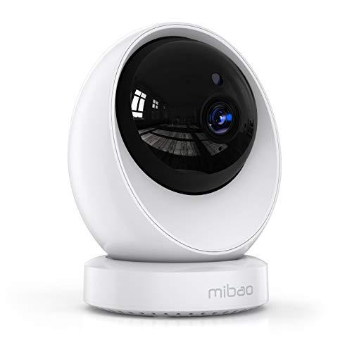 Telecamera Wi-Fi Interno, Mibao Telecamera IP FHD 1080P, Supporta 24 Ore Registrazione Continua, Rilevamento del… Sicurezza e videosorveglianza