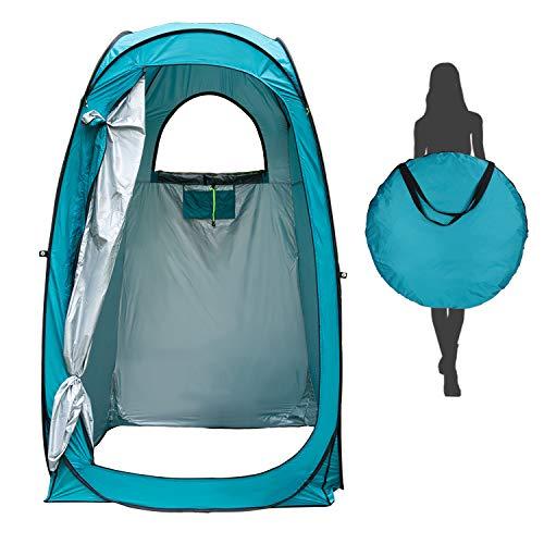Tenda da Bagno Campeggio Esterni, Tenda per la Privacy Pop-up, Tenda da Toilette Portatile, Spogliatoio Impermeabile per… Campeggio e trekking