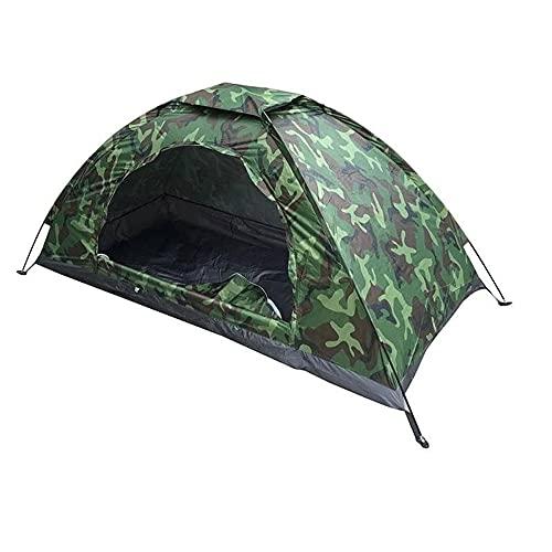 Tenda da Campeggio AIBOOSTPRO, Tenda da 1 Uomo Portatile e Leggera Impermeabile per Spiaggia, Trekking, Festival… Campeggio e trekking