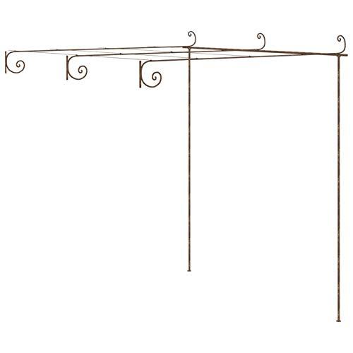 Tidyard Arco da Giardino Decorazioni per Il Giardino Arco Rose Piante Rampicanti, Metallo,3x3x2,5 m/4x3x2,5 m/ 6x3x2,5 m… Casa e giardino