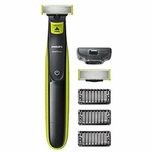 Philips QP2520/30 OneBlade Rade, Regola e rifinisce la barba di qualsiasi lunghezza, 3 Pettini Regolabarba + 1 Lama di… Best Sellers
