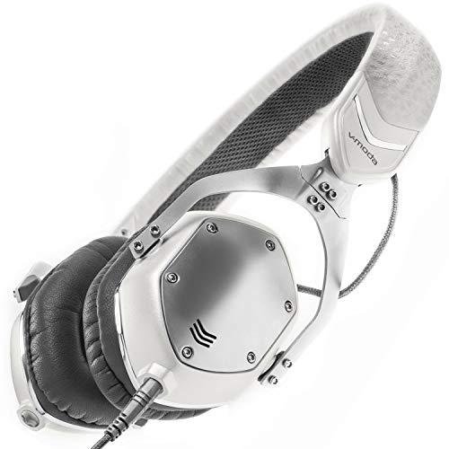 V-Moda XS Cuffie Sovraurali in Metallo con Isolamento dal Rumore – White Silver Strumenti e accessori musicali