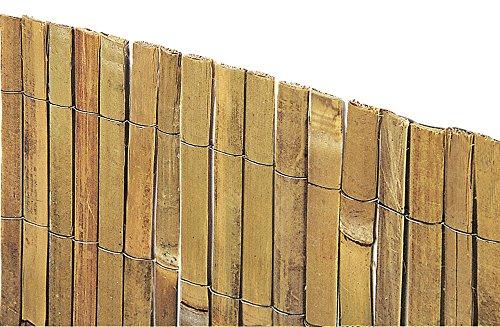 VERDELOOK Arella Beach in cannette di Bamboo 2×3 m, per recinzioni e Decorazioni Casa e giardino