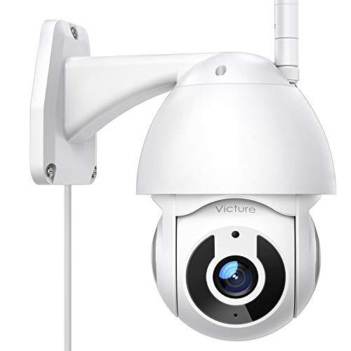 Victure Telecamera WiFi Esterno FHD 1080P Telecamera IP con Vista Panoramica/Inclinazione a 360° Visione Notturna… Sicurezza e videosorveglianza