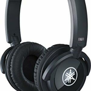 YAMAHA HPH-100B Cuffie Sovraurali, Cuffia On Ear con Meccanismo Girevole 90°, Leggere e Confortevoli, Suono Dinamico di… Cuffie da studio