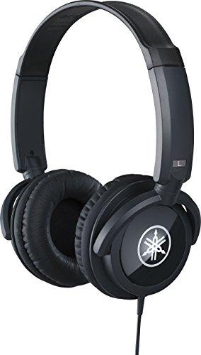 YAMAHA HPH-100B Cuffie Sovraurali, Cuffia On Ear con Meccanismo Girevole 90°, Leggere e Confortevoli, Suono Dinamico di… Strumenti e accessori musicali