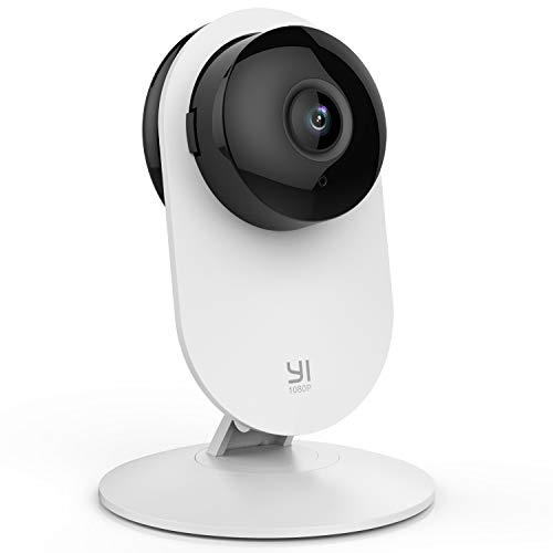 YI Home Camera 1080p ,Telecamera Wi-Fi Interno Compatibile con Alexa ,Telecamera IP per Bambini con Sensore Rilevamento…
