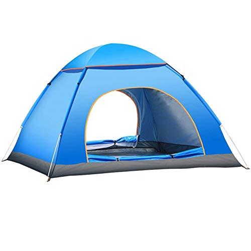 Yuanj Tenda da Campeggio, Tenda Pieghevole a Due Porte con Borsa per Il Trasporto Facile da Montare, Tende per Zaino in… Campeggio e trekking