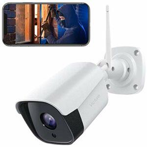 【2021 Aggiornato】Victure FHD 1080P Telecamera IP esterno, Telecamera di Sicurezza con Rilevamento di Suoni e Movimenti… Sicurezza e videosorveglianza