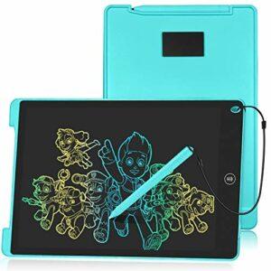 HOMESTEC LCD Tavoletta Grafica Display Colorato Tavolo da Disegno Cancellabile (Blu, 12 Pollici) Informatica