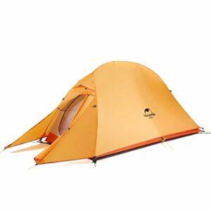 Naturehike Cloud-up Ultralight 1 Persona Tenda Impermeabile Double-Layer Camping Campeggio Campeggio e trekking
