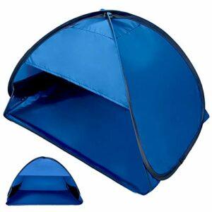 Tenda Pop Up Istantanea Tenda da Spiaggia per Esterni Portatile Automatica, Riparo per Il Sole all'aperto per Borsa da… Campeggio e trekking