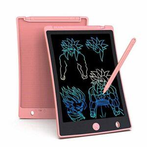 Arolun Tavoletta Grafica LCD Scrittura 8.5 Pollici, Display Colorato, Blocco Note Elettronico per Bambini e Adulti (Rosa… Informatica