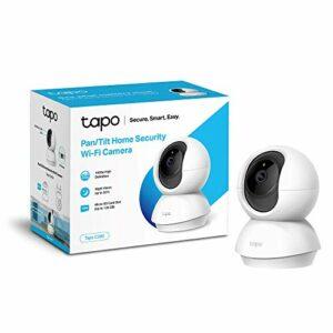 TP-Link Telecamera Wi-Fi Interno, Videocamera sorveglianza 1080P, Visione Notturna, Audio Bidirezionale, Notifiche in… Sicurezza e videosorveglianza