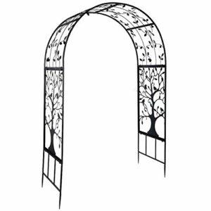 Emoshayoga Piante rampicanti Arco Arco per Matrimoni Decorazioni per Giardinaggio Giardino per Esterni Arco in Ferro per… Casa e giardino