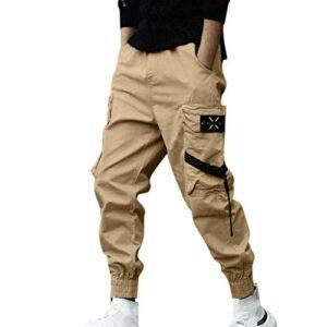 Dove acquistare Pantaloni Cargo Uomo,Momoxi Pantaloni Lunghi Autunno e Primavera Uomo con Coulisse Laterali Trousers della di Hip Hop…