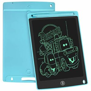 WOBEECO Tavoletta Grafica LCD Scrittura, 8.5 Pollici Lavagna da Disegno Digitale con Pulsante di Cancellazione e Blocco… Informatica
