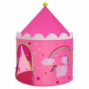 Dove acquistare SONGMICS Tenda da Gioco Castello da Principessa per Ragazze e Bambini, Casetta dei Giochi per Interni ed Esterni, con…