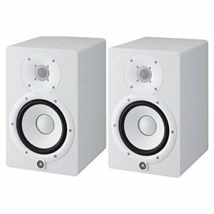 HS8 W – coppia monitor near field biamplificati con sistema bass reflex a 2 vie, woofer da 8″, 120 watt (colore bianco) Monitor da studio