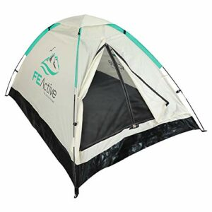 FE Active – Tenda da Campeggio 1-2 Persone con Zanzariera, Tenda Pieghevole Facile da Montare, Trasporto Facile per… Campeggio e trekking