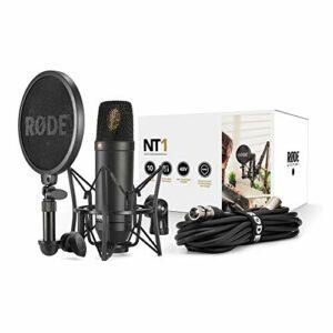 Dove acquistare RODE NT-1 KIT Composto da Microfono a Condensatore, Supporto Rycote e Entipop Integrato, Nero
