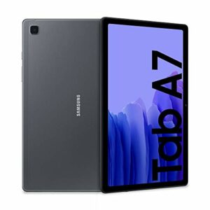 Samsung Galaxy Tab A7 Tablet, Display 10.4″ TFT, 32GB Espandibili fino a 1TB, RAM 3GB, Batteria 7.040 mAh, WiFi, Android 10, Fotocamera posteriore 8 MP, Dark Gray [Versione Italiana] Informatica