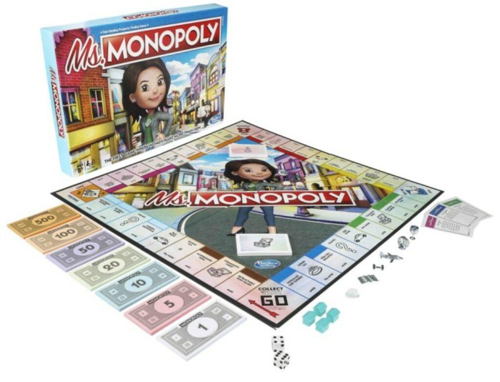 Miss Monopoly, il primo gioco dove le donne guadagnano di più degli uomini