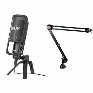 Dove acquistare Rode Microphones NT-USB Microfono a Condensatore con Filtro Anti-pop e Supporto da Tavolo, Compatibile con iPad, Cavo…