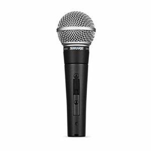 Shure SM58S Microfono Professionale con Switch On/Off Strumenti e accessori musicali