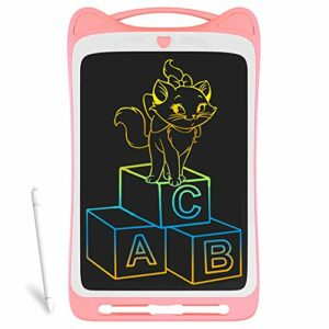 Richgv LCD Writing Tablet,12 Pollici Colorato Elettronico Tablet Tavoletta Grafica Digitale Scrittura, Ewriter Paperless… Informatica