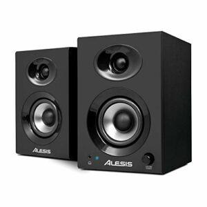 Alesis Elevate 3 MKII – Casse PC Attive da Scrivania con Audio Professionale Per Home Studio, Editing Video, Gaming e… Monitor da studio