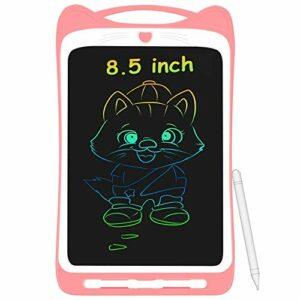 AGPTEK Tavoletta Grafica LCD Scrittura 8.5 Pollici Colorato, con Pulsante di Blocco, Lavagna da Disegno Portatile per… Informatica