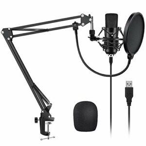 Dove acquistare YOTTO USB Microfono a Condensatore Kit 192kHZ/24bit Microfono di Registrazione per Computer PC YouTube con Filtro…