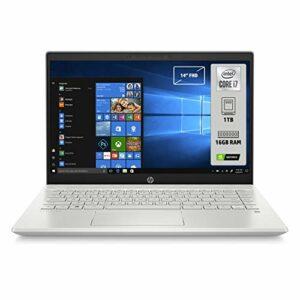 HP-PC Pavilion 14-ce3035nl Notebook, Intel Core i7-1065G7, RAM 16 GB, SSD 1 TB, Nvidia GeForce MX250 4 GB, Windows 10… Informatica