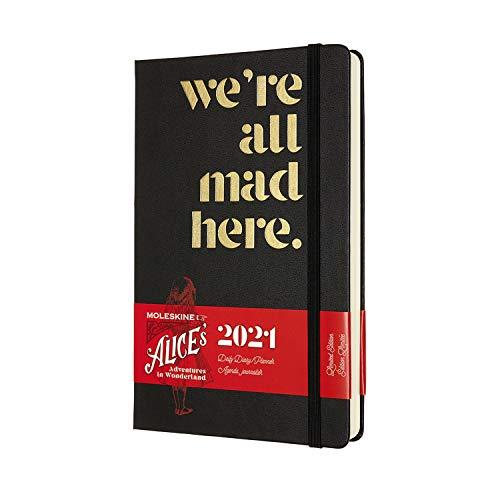 Dove acquistare Moleskine – Agenda Giornaliera 12 Mesi, Agenda Giornaliera 2021, Planner in Edizione Limitata Alice nel Paese delle Meraviglie, Tema Siamo Tutti Pazzi Qui, Formato LARGE 13 x 21 cm, 400 Pagine